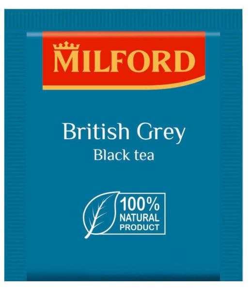 Чай Milford British Grey - Бритиш Грей, 1 пакетик