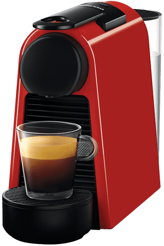 Кофемашина DELONGHI Essenza Mini D30 Red Triangle mirespresso капсульная кофемашина