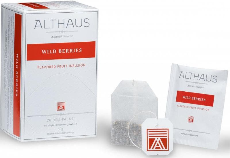 Чай Althaus Wild Berries - Уайлд Бэрриз, 20 пакетиков