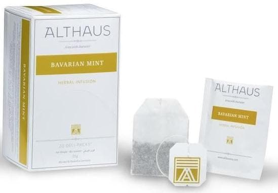 Чай Althaus Bavarian Mint - Баварская Мята, 20 пакетиков