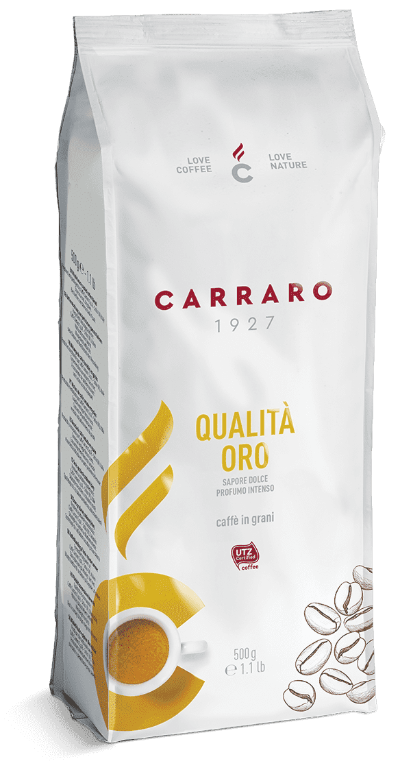 Кофе Carraro QUALITA ORO 500 г