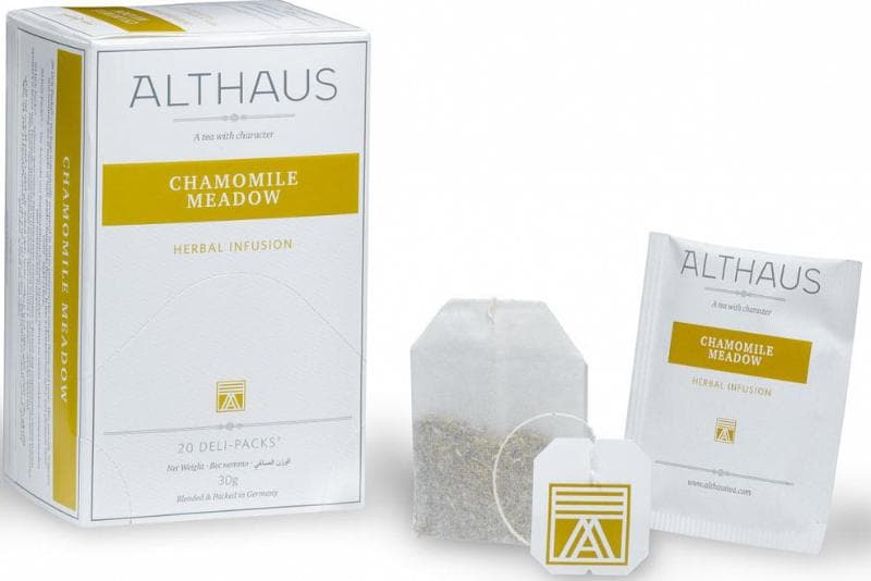 Чай Althaus Chamomile Meadow - Ромашковый Луг, 20 пакетиков